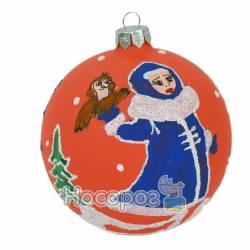 Іграшка новорічна КУЛЯ ФОНОВА Ф-С1