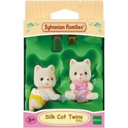 """Игровой набор Sylvanian Families """"Шелковые котята-двойняшки"""" 5082"""