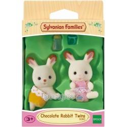 """Игровой набор Sylvanian Families """"Шоколадные крольчата-двойняшки"""" 5080"""