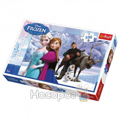 "Пазл ""Игра кристофа"" Disney Frozen"