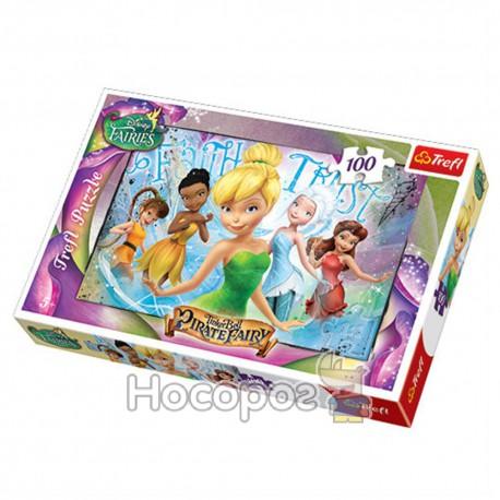 "Пазл ""Звоночек и фея пиратка"" Disney Tinkerbell"