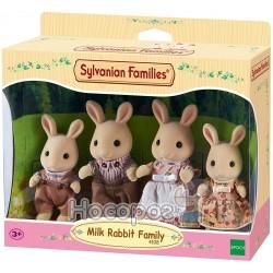 """Игровой набор Sylvanian Families """"Семья Молочных Кроликов"""" 4108"""