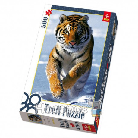 "Пазл ""Снежний тигр"""