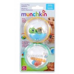 Іграшка для ванни «Плаваючі бульбашки»(черепашка з фігурками)