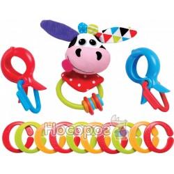 Іграшка-ланцюжок Yookidoo Корівка