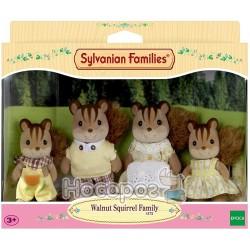 """Ігровий набір Sylvanian Families """"Сім'я горіхових білок"""" 4172"""