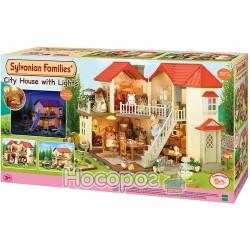 """Ігровий набір Sylvanian Families """"Великий будинок зі світлом"""" 2752"""