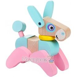 Деревянная игрушка Cubika Ослик-акробат LA-5 (12459)