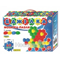 "Іграшка мозаїка-пазли Технок ""Бджілка"" 2995"