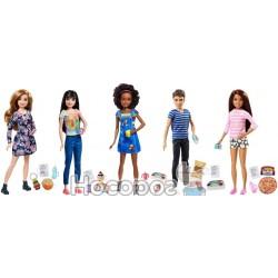 "Кукла MATTEL Barbie - Воспитатели серии ""Уход за малышами"" FHY89"