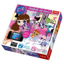 "Пазл ""80 App Puzzle"" - Вечерние игры, Hasbro, My Littlest Pet Shop (75101)"