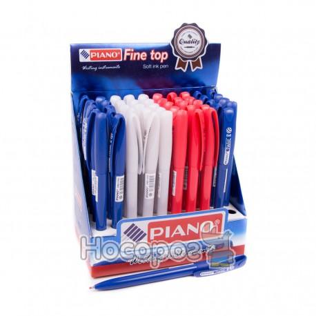 Ручка шариковая PIANO Fine top PB-1151