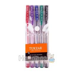Ручка в наборе TZ-142-5 гель, 5 цветов