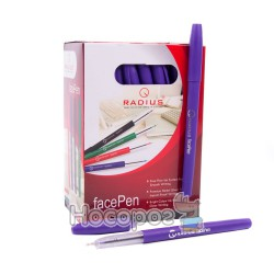 Ручка шариковая Radius facePen фиолетовая
