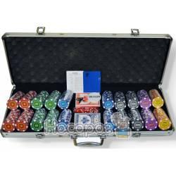 Настольная игра Покерный набор (500 фишек) 59210