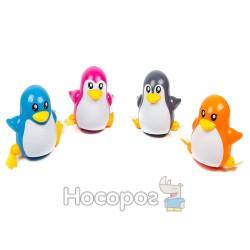 Игрушка заводная 668 Пингвины (4 цвета, 12 шт в коробке) (36)