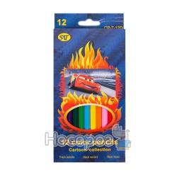 Карандаши цветные SAT CP-7-12D