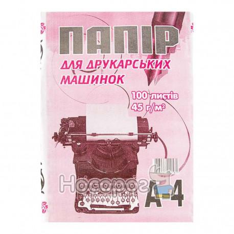 Бумага газетная Фолдер А4/100