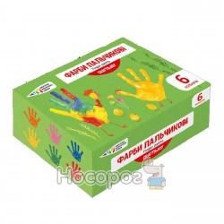 Краски пальчиковые Гамма Украина Craft & Joy 6 цветов 322074