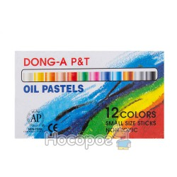 Пастель масляная 12 цветов Dong-A