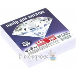 Блок бумаги для заметок Crystal белый 300 л.