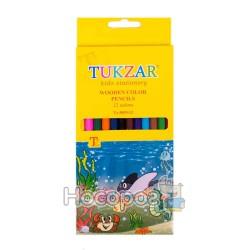 Карандаши цветные ТZ-5855-12