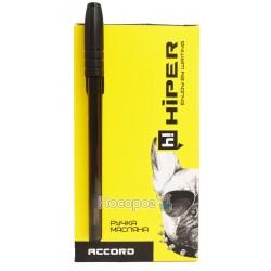 Ручка масляна Hiper Accord HO-500 черная