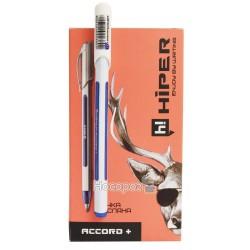 Ручка масляна Hiper Accord+ HO-550 трехгранная