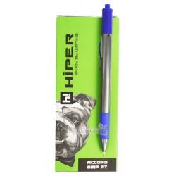 Ручка масляная Hiper Accord Grip HA-140RT