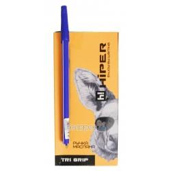 Ручка масляная Hiper Tri Grip HO-555-C