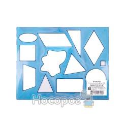 Трафарет геометрических фигур №2