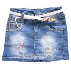 3075 Юбка джинсовая