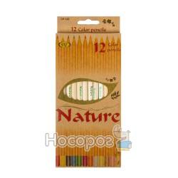 Карандаши цветные SAT CP-128 12 цветов
