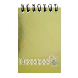 Блокнот Рюкзачок ЗК-15 (записная книжка) А7/48 листов, металлик