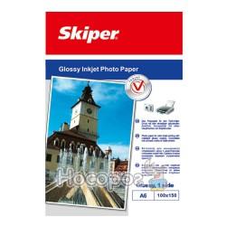 Фотобумага Skiper глянцевая А6/100 листов 200г (152030)