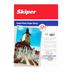 Фотобумага Skiper глянцевая А4/100 листов 200 г (152024)