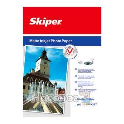 Фотобумага Skiper матовая А4/100 листов 128г (152021)
