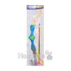 Лук со стрелами-присосками, ножом и свистком 206