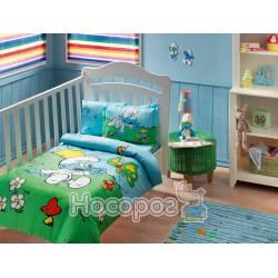 Детский набор постельного белья SIRINLER BLUE BABY
