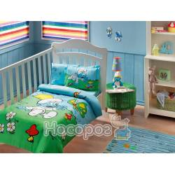 Дитячий набір постільної білизни SIRINLER BLUE BABY