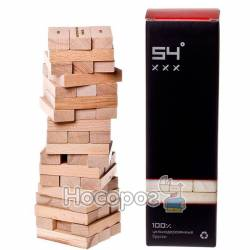 """Настольная игра GaGa Games Башня алкогольная """"54 градуса XXX"""" GG007"""