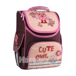 Рюкзак школьный каркасный Kite K15-501-4S Cute Owls