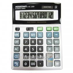 Калькулятор ASSISTANT АС-2381