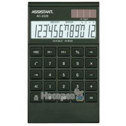 Калькулятор ASSISTANT АС-2326 чорний