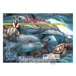 Альбом для акварели Фолдер А3, 20л.