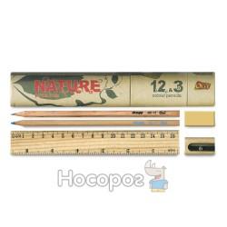 Набор в картонном тубусе NATURE 681-15