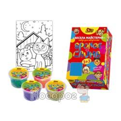 Творческий набор Веселая мастерская 6 цв OL-1014 Пес и Кот