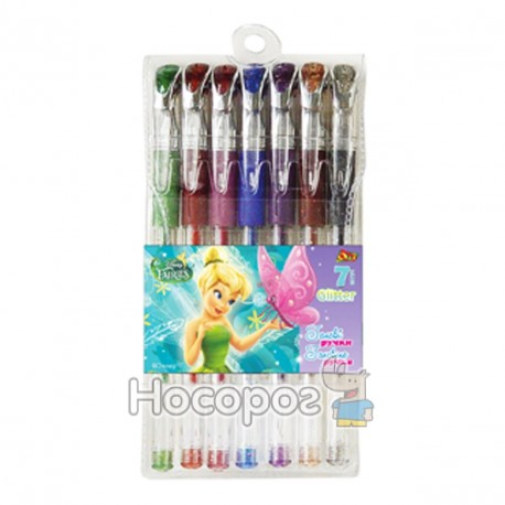 Ручки в наборе Олли BH-825 7 цветов гель глиттер