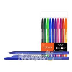Ручки в наборе TZ-927A-10 шариковые, 10 цветов