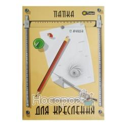 Папка для черчения А4/12 л. Добрый
